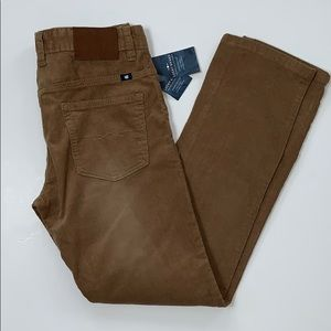 New! Lucky Brand Corduroy Cooper Slim Pants 14